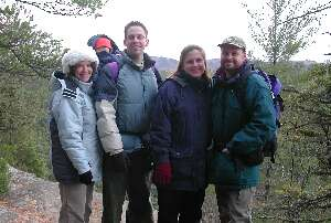 Lisa, Andrew, Adrienne, Pat, and Jack