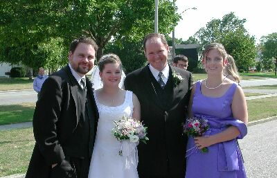 Andrew, Michelle, Jay, and Lisa