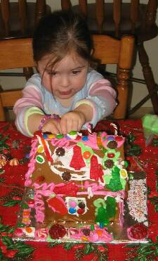 Kate and the Gingerbread House
